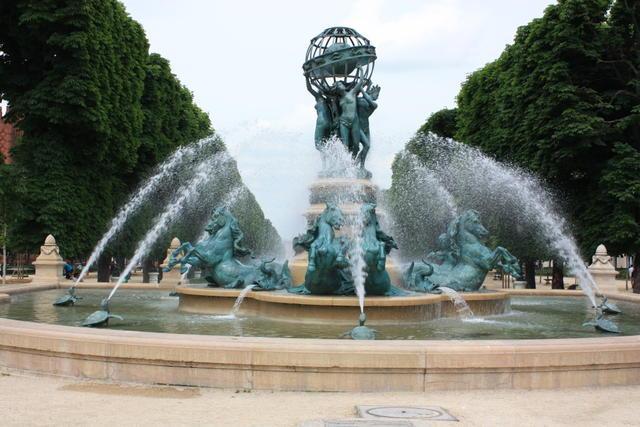 Jardin du luxembourg changing places for Boulevard du jardin exotique